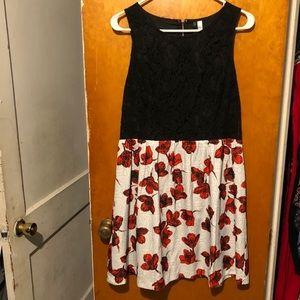 Kensie women's floral dress